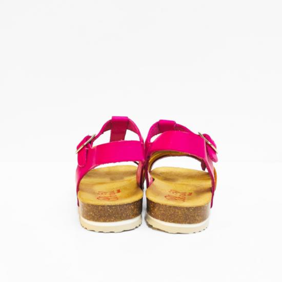 Abril sandalen dark pink