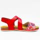 Abril sandalen red flower