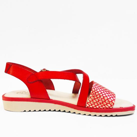 Abril sandalen  red