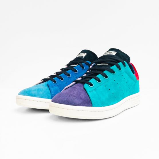 adidas sneaker STAN SMITH blue pink orange