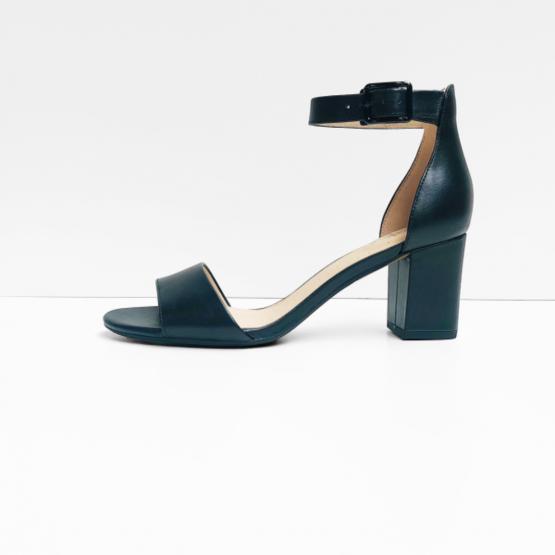Unstructured by Clarks sandalen zwart leer