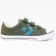 Converse sneaker dark green blue