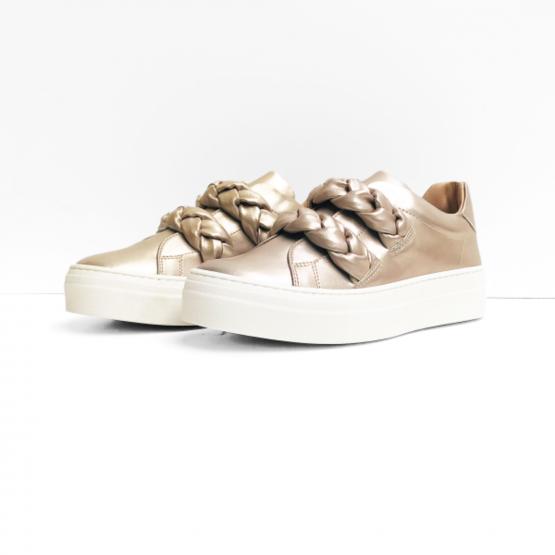 Florens sneakers zandkleurig