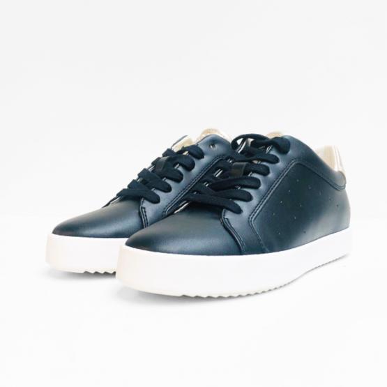 GEOX sneaker black gold