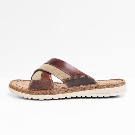 Hush puppies   sandalen CEBA beige brown