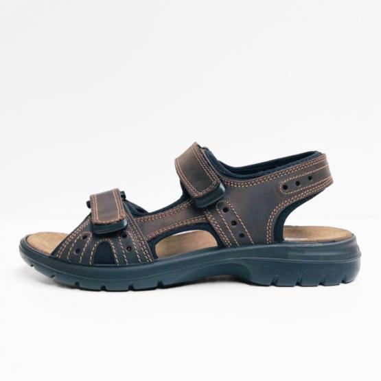 Hush puppies sandalen INTIMOS  donker bruin