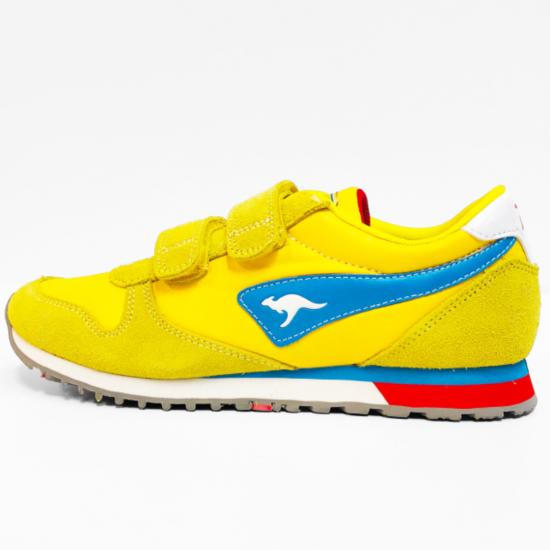 Kangaroos sneaker yellow blue red