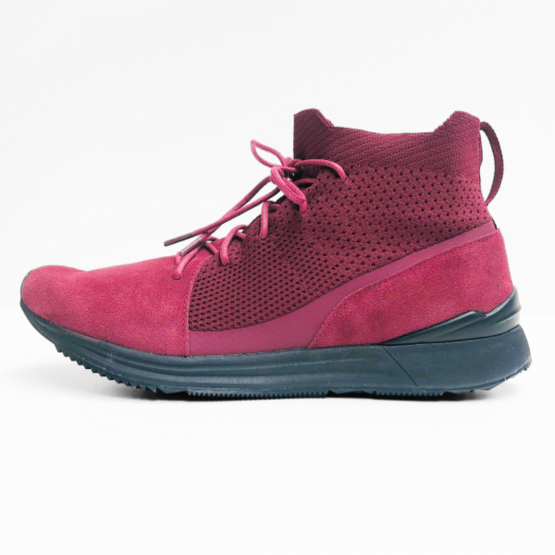 lutha sneaker dark red