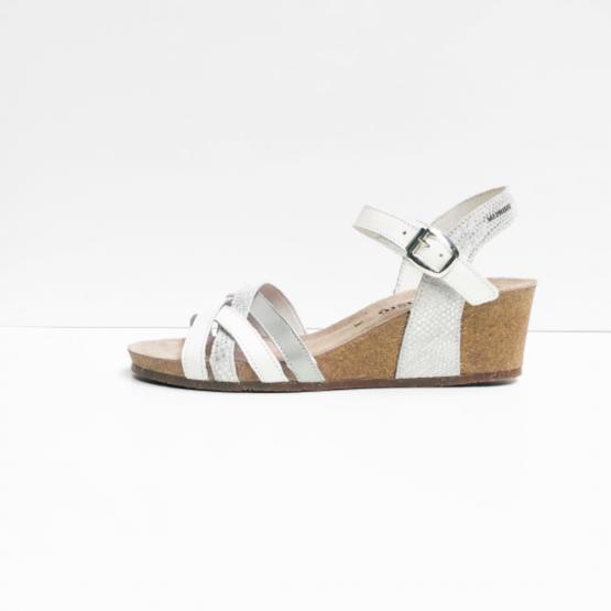 Mephisto sandalen wit zijde