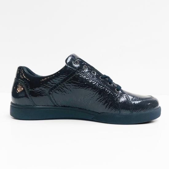 Mephisto sneakers zwart lak