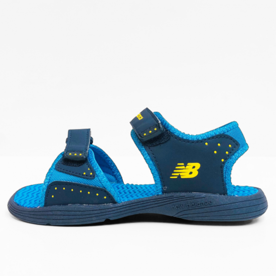 new balance  sandalen navy blue