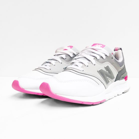 new balance  sneaker grey pink white