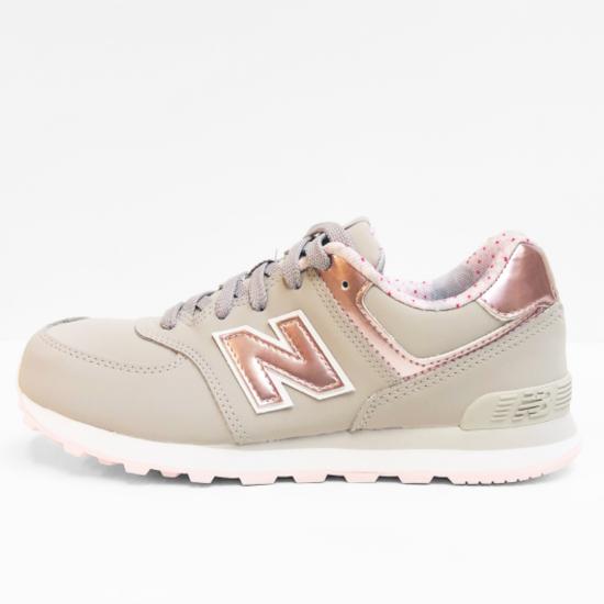 new balance  sneaker   grey pink