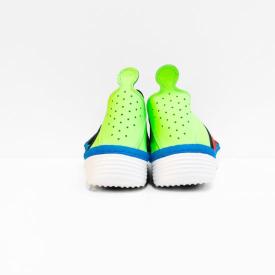 NIKE  loafer green black blue