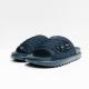 nike slippers black