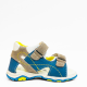 Piure sandalen blue grey yellow