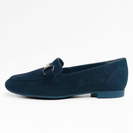 Paul Green  mocassins donker  blauw