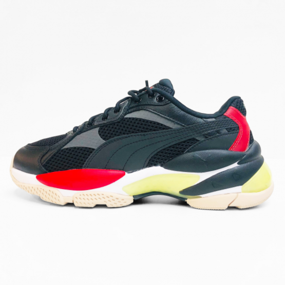 Puma sneakers black red yellow