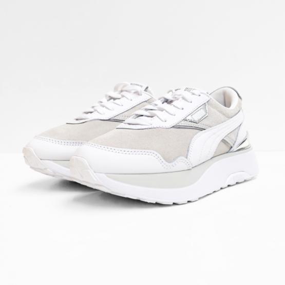 puma sneakers grey white