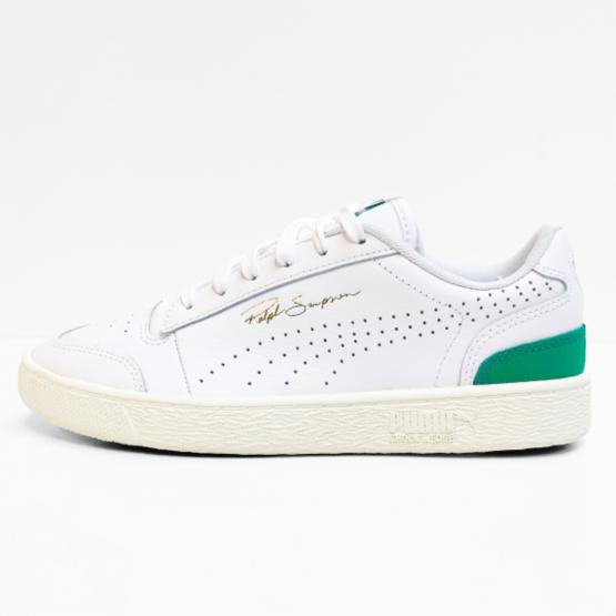 Puma veterschoen white amazon green