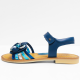 STONES AND BONES sandalen electric blue