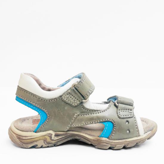 STONES AND BONES sandalen kaki blue