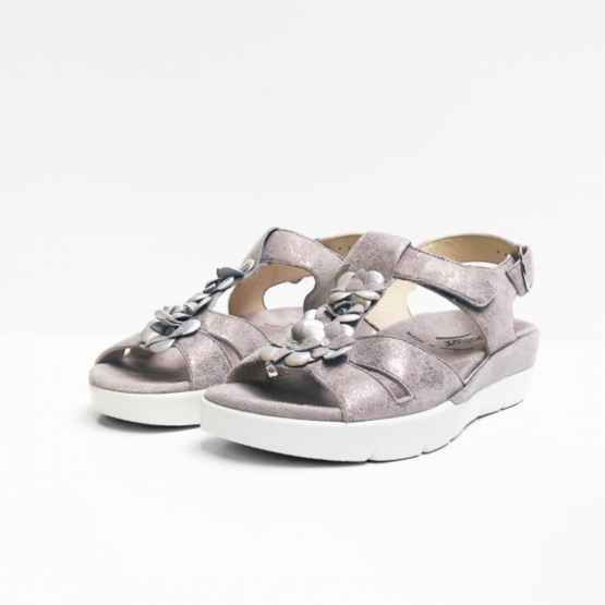 Semler sandalen zilver