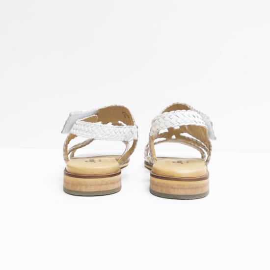 Sioux sandalen wit