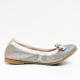 TOMMY HILFIGER ballerinas  silver