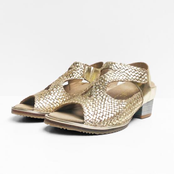 Verhulst sandalen goud
