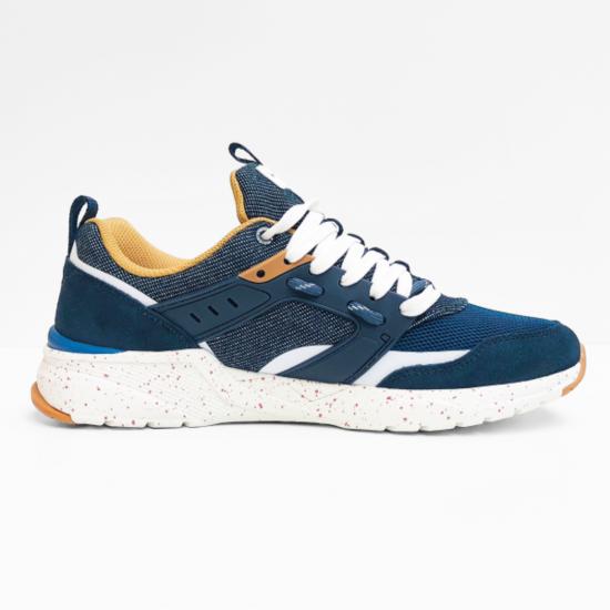 wrangler sneaker iconic tech  blue