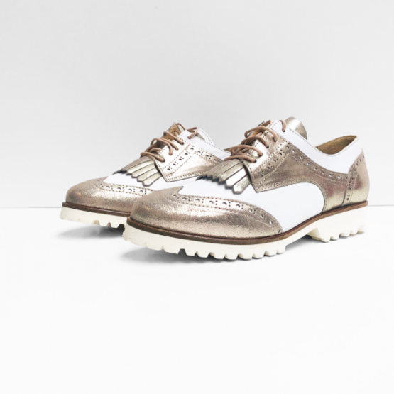 Xsensible sneakers wit & champagne