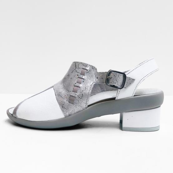 Xsensible sandalen wit met grijs