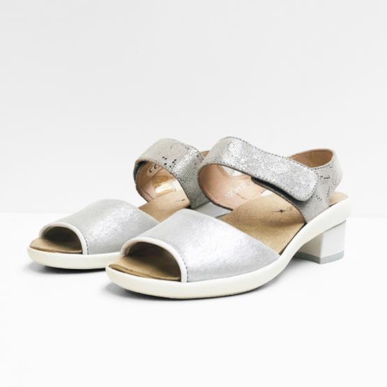 Xsensible sandalen zilver