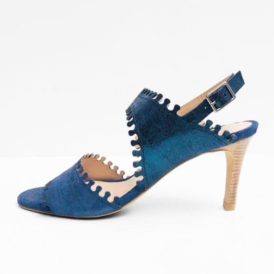 Zinda  pumps blauw