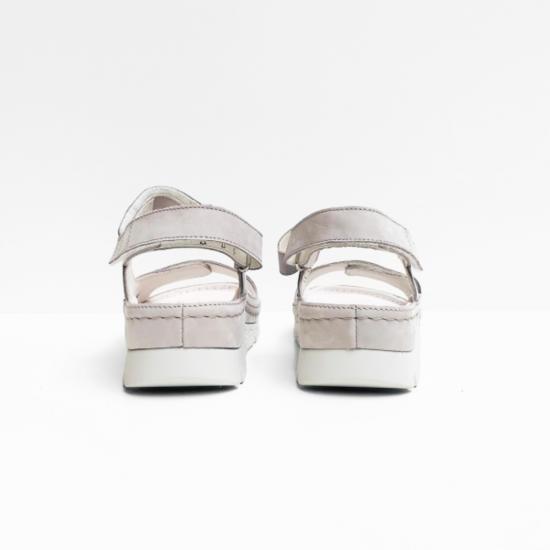 berkemann sandalen grey nubuk