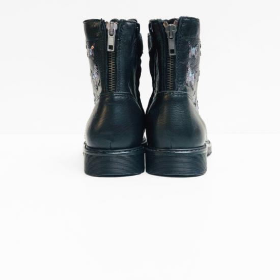 Kipling boots black butterfly