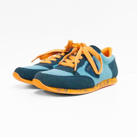 Kipling sneaker navy dark orange